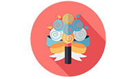 wedding bouquet icon